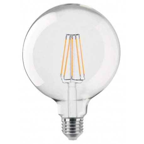 Ampoule Claire E27 4W led filament KLARA 400 lumens diam 125x175mm CALI