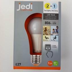 Ampoule led 2EN1 2 ambiances 2700 K et 4200 K E27 806 lm 10.5 W Jedi je0126021