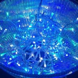 Guirlande de noël LED animée 5m Glacial