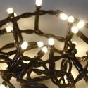 Guirlande de noël 60 LEDs 2,5m blanc chaud