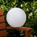 Boule lumineuse sans fil Pearl 25cm