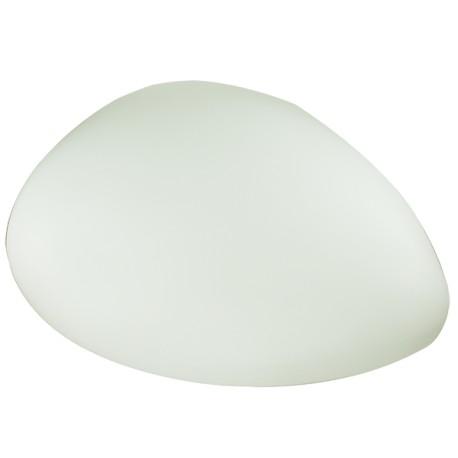 Galet lumineux solaire LED LUNA 65x40 cm