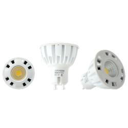 Ampoule LED GU10  5W - 3000K - 38°