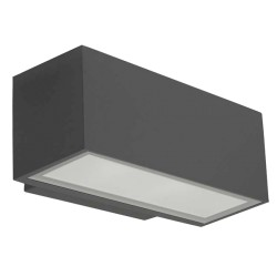 Applique LED Afrodita III 11.5W blanc-antracite