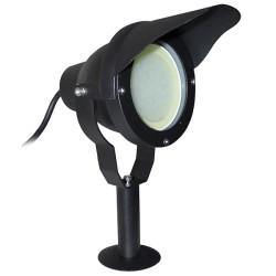 Projecteur LED puissant sur socle ou piquet 10W