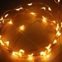 Guirlande lumineuse solaire de noël 48 LEDS MAGIC 3m