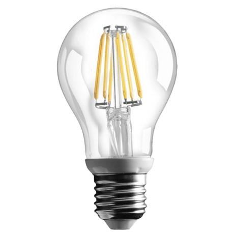 Ampoule LED à filament - E27 - 6W - 360° - 800lm - A60