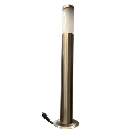 Borne tubulaire Inox 60cm