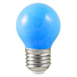 Ampoule LED - E27 - G45 - 1W - 240° - BLEU - 7619B -Vision EL