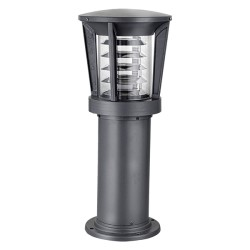 Borne cylindrique halogène 48W en Aluminium 60 cm 64360 Easy Connect