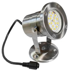 Projecteur LED 4W sur socle ou piquet
