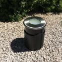 Spot LED encastré pour béton ou terre 11cm 4W  ~280lm faisceau large