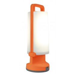 Lampe portable rechargeable USB ,solaire Orange DRAGONFLY led 1W 120 lm 4000k IP54