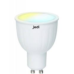Jedi 563041571 LED 2In1 GU10 345Lm, Verre, 5.5 W, Blanc, 20 x 10 x 5 cm