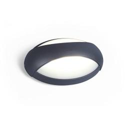 Lutec 563800019 Applique Eyes 1L Métal, Intégré, 8.5 W, Noir