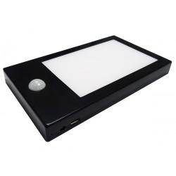 Réglette autonome noir sans fil / LISA LTH / Led intégrée 1.8W, 110 Lumens, 4000 Kelvin / IP20 CLIII