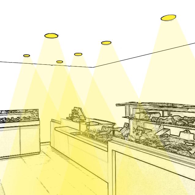 Aménagez un bon éclairage d'ambiance dans votre boucherie