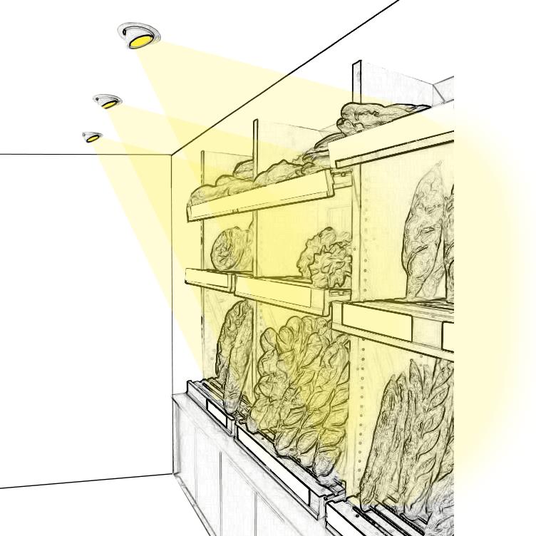 Misez sur un éclairage de panetières réussi !