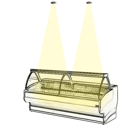 Mettez en lumière vos vitrines réfrigérées