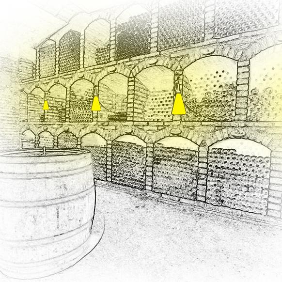Conseils pour l'éclairage d'une cave à vins