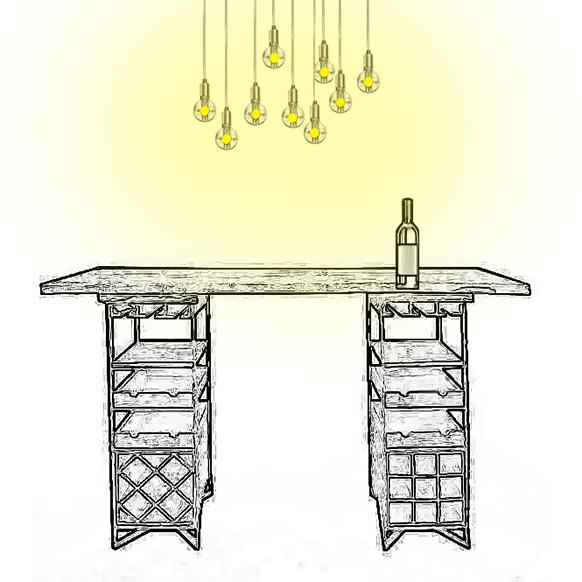 Conseils pour l'éclairage d'une table de dégustation de vins