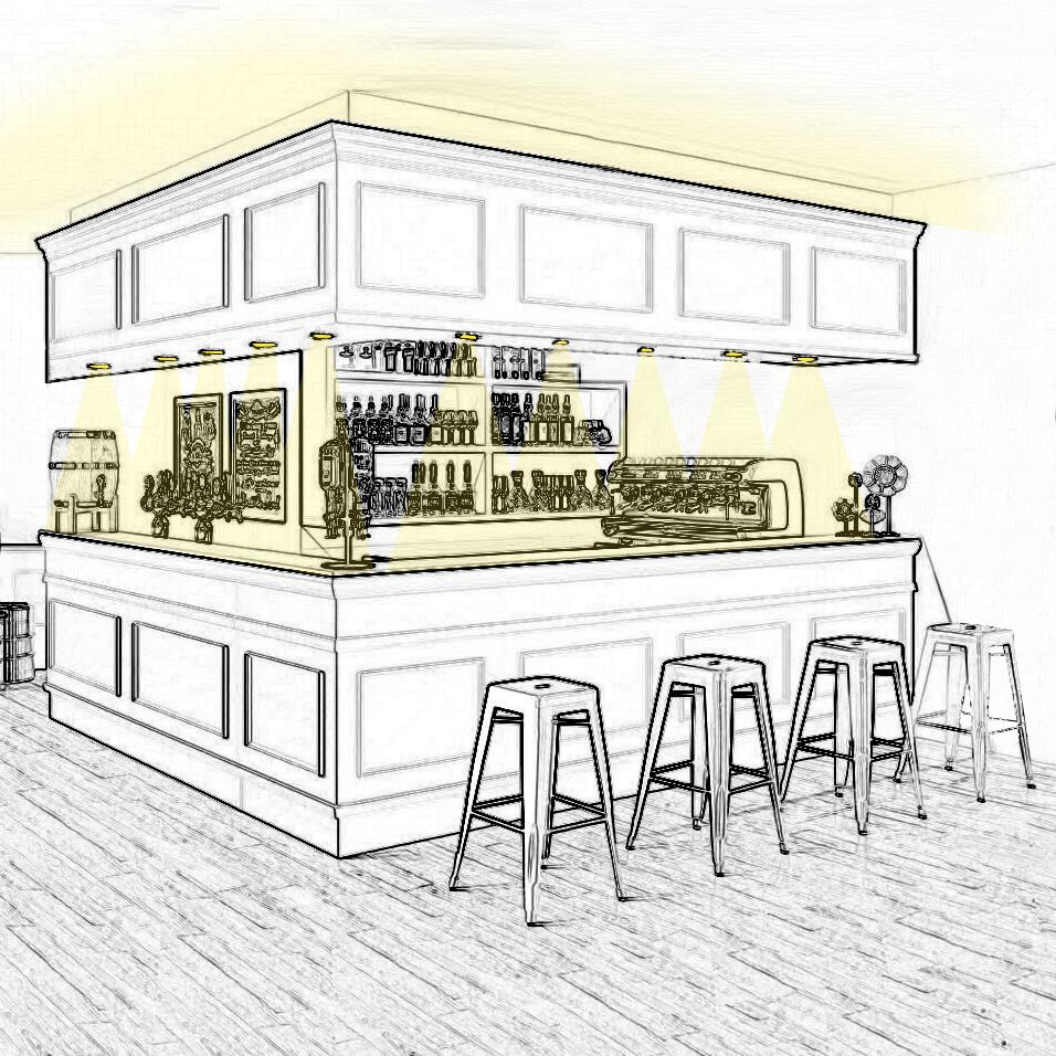 Mettez en scène votre bar grâce à la lumière