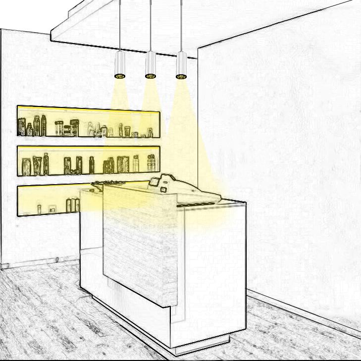 Réalisez un bon éclairage de caisse