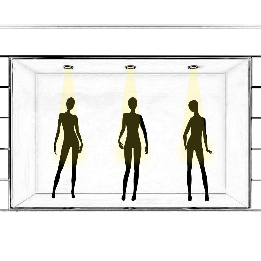 Attirez les passants avec un éclairage de vitrine percutant !