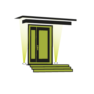 Conseil clairage entr e maison avec spot encastrable for Lumiere exterieur entree