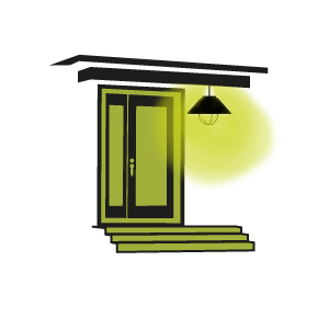 Conseil clairage entr e maison avec suspension ext rieur for Eclairage exterieur de maison