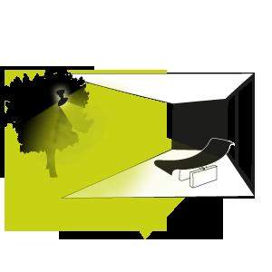 Conseil eclairage terrasse avec projecteur exterieur for Lumiere terrasse led